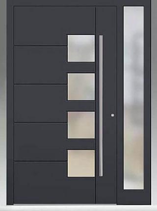 Hung Door