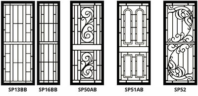 security doors and screens - style set 2