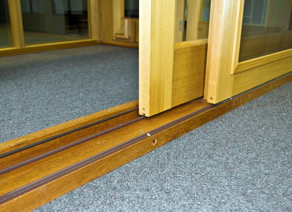 sliding door repaired runner track