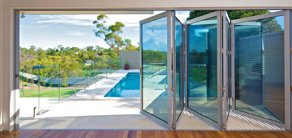 Bi-fold door replacement – pool deck