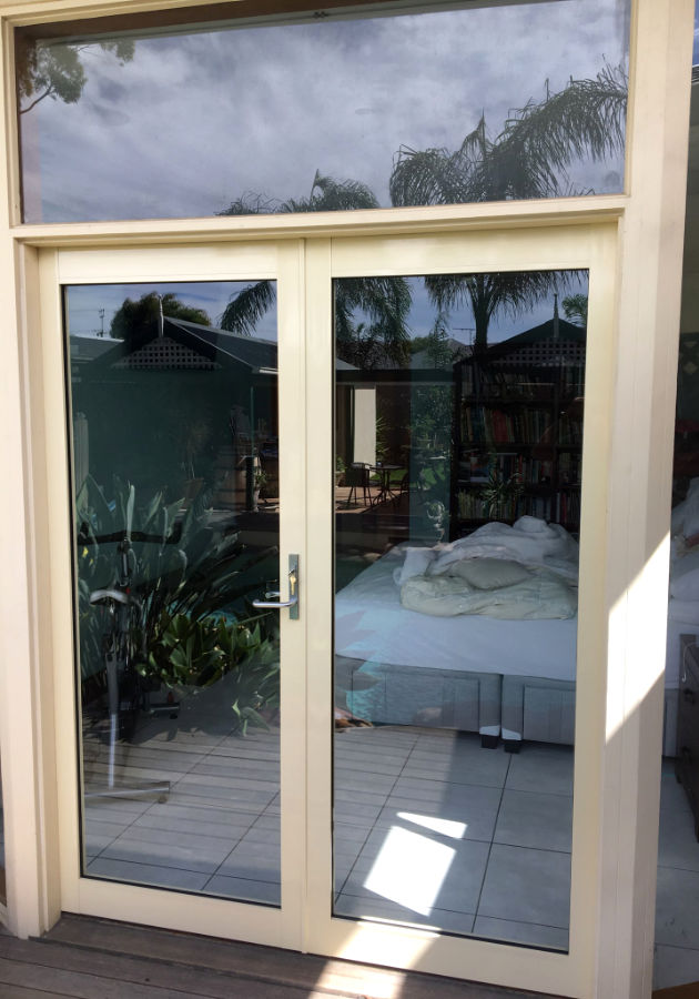 French door remodelling after