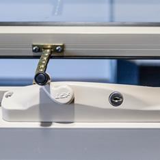 Repairs to aluminium window latches and locks