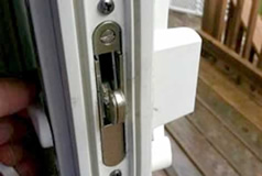 Sliding door lock & latch repairs
