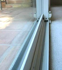 Repairs to all types of sliding door tracks