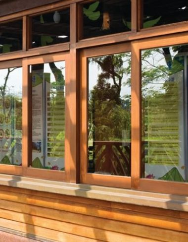 Wooden window repairs
