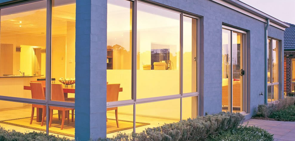 New aluminium windows modern Adelaide house