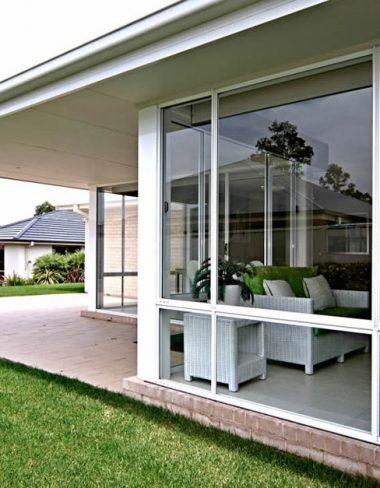 Spacious aluminium windows on classic Adelaide home