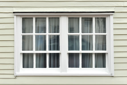 Unique old style sash window