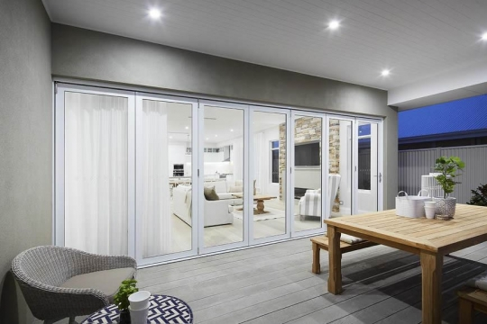 Bi-fold door - new home - closed