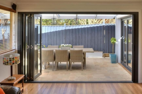Bi-fold door - new home 2 - open