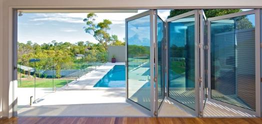 Bi-fold door replacement – pool deck