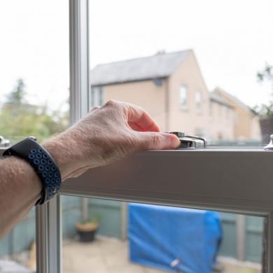 Sash window hinges handles & locks